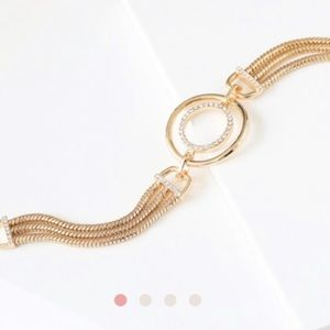 Chloe + Isabel Anniversary Gold Bracelet